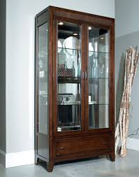 Kitchen Wall Display Cabinets by Glass Display Cabinet Home Glass Display Cabinets Beech Single