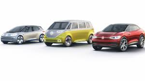 volkswagen electric bus l a auto show 2017 volkswagen tackles electric market with i d