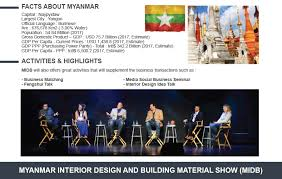 Interior Design Facts by Myanmar Interior Design U0026 Building Material Show Midb U0026 Myanmar