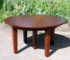 voorhees craftsman mission oak furniture gustav stickley 54 inch