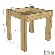 Build A End Table by Simple Kid U0027s Table And Chair Set Her Tool Belt