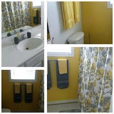 yellow bathroom accessories gray and yellow bathroom grey yellow