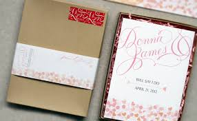 wedding invitations in a box box wedding invitation inspired to make every day work