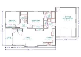 Ranch Home Plans With Basements Simple Small House Floor Plans This Ranch Home Has 1 120 Square