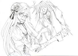 undertaker coloring pages grell and undertaker 2 by itsastupidnameright on deviantart