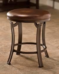 Antique Vanity Chairs Hillsdale Hastings Backless Vanity Stool Antique Bronze 50975