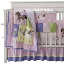 Pony Crib Bedding 8 Best Purple Butterfly Crib Bedding Images On Pinterest Baby