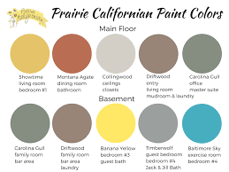 building a home picking paint colors