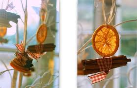 pantry and parlour dried orange and cinnamon decorations