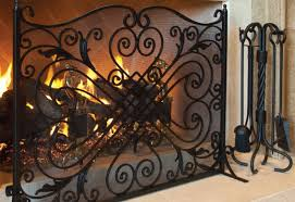fireplace screens baton fireplace accessories baton