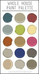 7 steps to create your whole house color palette colour chart