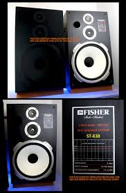 ds 10 home theater system fisher replacement speakers drivers spares u0026 parts