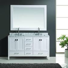 design element bathroom vanities design element 60 london double vanity set white espresso gray