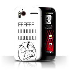 Rage Guy Memes - stuff4 back case cover skin for htc sensation xe funny internet