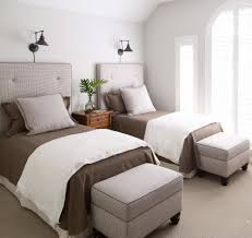 twin upholstered headboards bedrooms change out the wood headboard for a softer more
