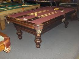 reconditioned billiard tables cagle u0027s billiards