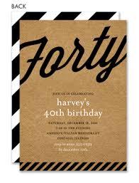 40th birthday invitations 40th birthday party invitations over the
