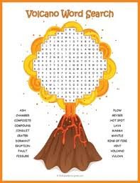 help your kids or students learn about volcanoes with this