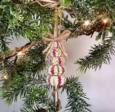 nautical ornaments urchin tree coastal tree