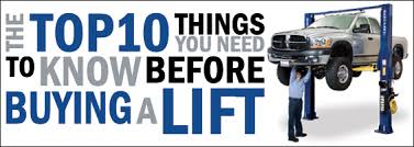 Backyard Buddy Lift Reviews The Top 10 Things You Need To Know Before Buying A Lift Bendpak Blog