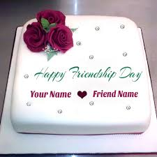 Wedding Wishes Cake Write Your Name On Friendship Day Wishes Cake Pic