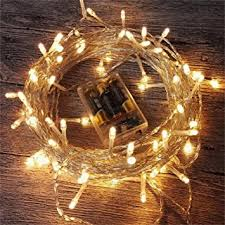 amars led string lights battery operated 33