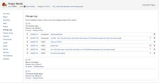 browsing a project u0027s change log atlassian documentation