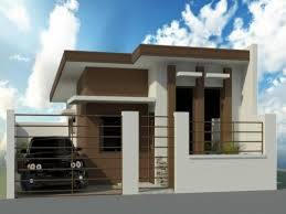 bungalow house designs philippines modern houses modern zen house design philippines