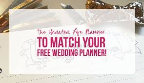 how to become a wedding planner for free the undated planner to match your free wedding planner