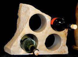 counter wine racks natural rock designs