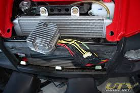 polaris rzr voltage regulator relocation utv guide