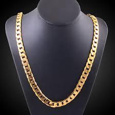 gold colour chain necklace images Vintage long gold chain for men chain necklace brand new trendy jpg
