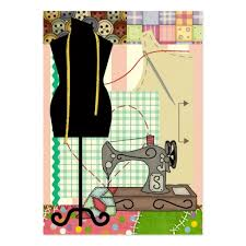 sewing cards templates create your own craft artist business cards page2