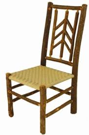 Mountain Outdoor Furniture - old hickory smoky mountain outdoor dining side chair