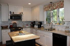 White Kitchen Cabinets Colors Black Stained Wooden Island Set - Black stained kitchen cabinets