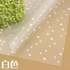 waterproof wrapping paper 10pc clear waterproof paper roll flower packaging floral wrapping