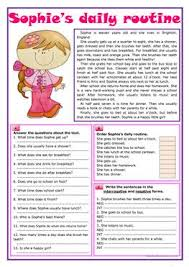6320 free esl reading comprehension exercises worksheets