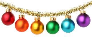 ornaments balls invitation template