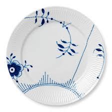 royal copenhagen blue fluted mega dinner plates by kitchen