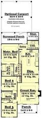 Salt Box House Plans Saltbox House Plan 94007 Total Living Area 1900 Sq Ft 4 Single
