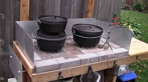 dutch oven cooking table baby back ribs with dutch oven vegetables avchd youtube