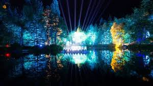 enchanted forest of light tickets enchanted forest light show breaks ticket sales record bbc news