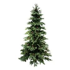 shop northlight 7 ft new pine slim artificial tree