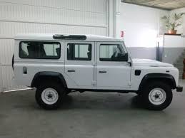 white land rover defender left hand drive landrover defender n 11413