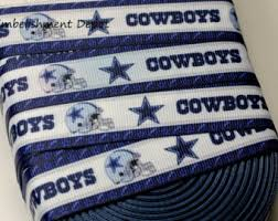 dallas cowboy ribbon 3 yard 1 dallas cowboy ribbon