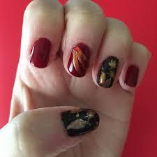 fall nail art u2022 katie crafts