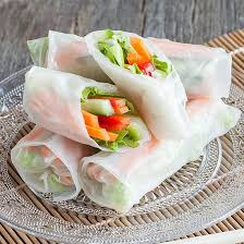 rice paper wrap vegetarian rice paper rolls ohmydish