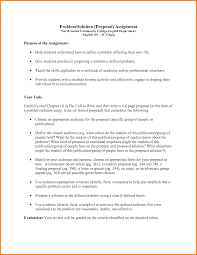 Example Of A Formal Essay Proposing A Solution Essay Ideas