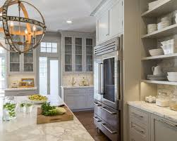 gray kitchen island 12 beautiful gray kitchen cabinets interiors by color
