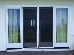 sliding glass storm doors double sliding screen door rescreening in malibu with pet screen